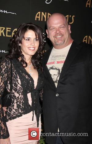 Rick Harrison and Deanna Burditt - Andrea's Restaurant grand opening Las Vegas Nevada United States Wednesday 16th January 2013