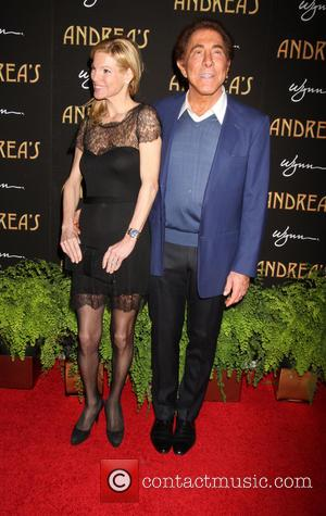 Steve Wynn and Andrea Wynn - Andrea's Restaurant grand opening Las Vegas Nevada United States Wednesday 16th January 2013