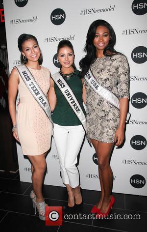 Logan West, Olivia Cuplo and Nana Meriwether - HSN Celebrates Digital Redesign New York City New York United States Wednesday...