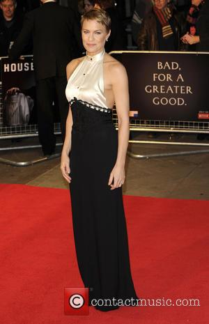 Robin Wright - The House of Cards TV premiere held at Odeon - London, United Kingdom - Thursday 17th January...