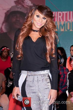 Tamar Braxton - Celebrities attend BET's 106 and Park Taping in New York City - New York City, New York...