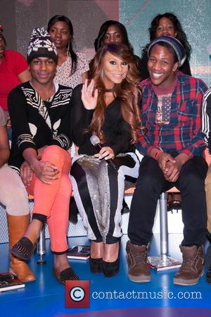 Tamar Braxton - Celebrities attend BET's 106 and Park Taping New York City New York  United States Thursday 17th...