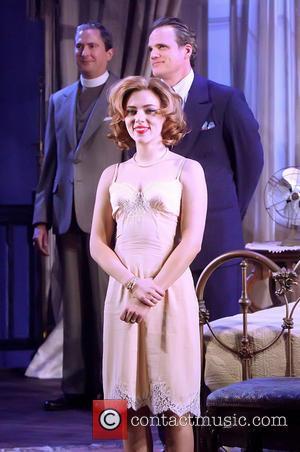Scarlett Johansson, Michael Park and Vin Knight