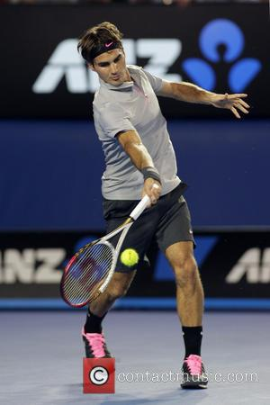 Roger Federer - Australian Open Tennis 2013 Melbourne Australia Thursday 17th January 2013