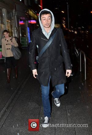 Killian Scott - Killian Scott seen walking past The Gaiety Dublin Ireland Thursday 17th January 2013