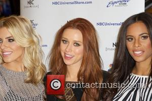 Mollie King, Una Healy and Rochelle Humes