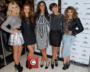 Mollie King, Una Healy, Rochelle Humes, Frankie Sandford and Vanessa White