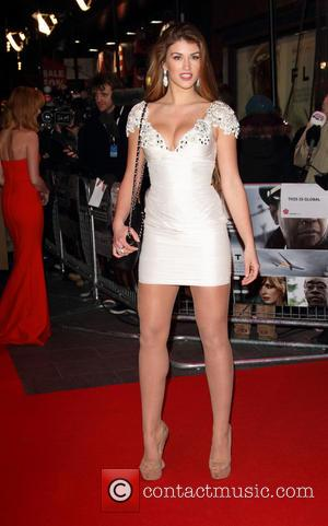Amy Willerton - UK Film Premiere of 'Flight' London United Kingdom Thursday 17th January 2013