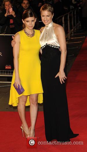 Robin Wright and Kate Mara - House of Cards TV premiere London United Kingdom Thursday 17th January 2013
