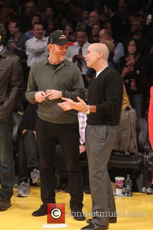 Ron Howard - Celebrities at the Lakers game Los Angeles California United States Thursday 17th January 2013