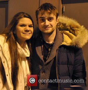 Daniel Radcliffe and fan
