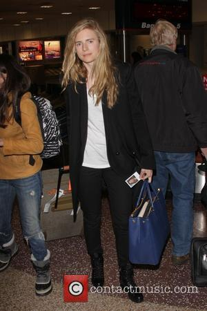 Brit Marling - Celebrities arrive at Salt Lake City International Airport Salt Lake City Utah United States Thursday 17th January...
