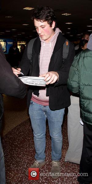 Miles Teller - Celebrities arrive at Salt Lake City International Airport Salt Lake City Utah United States Thursday 17th January...