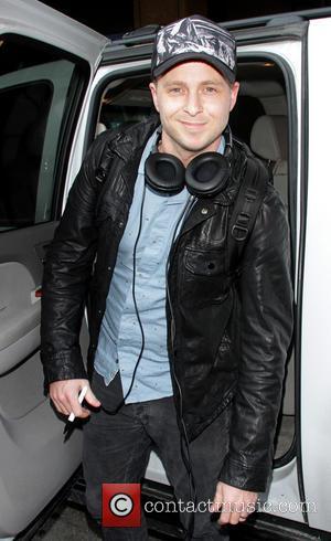 Ryan Tedder of OneRepublic - Celebrities arrive at Salt Lake City International Airport Salt Lake City Utah United States Thursday...