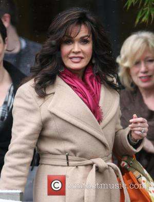 Marie Osmond - Celebrities outside the ITV studios London United Kingdom Friday 18th January 2013