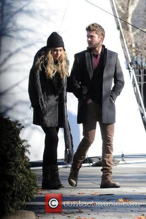 Imogen Poots and Zac Efron - Are We Officially Dating Filmset New York City NY United States Friday 18th January...