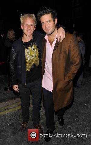 Spencer Matthews and Jamie Lang