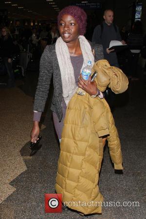 Danai Gurira - Celebrities arrive at Salt Lake City International Airport for the 2013 Sundance Film Festival Salt Lake City...
