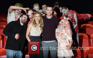 Nicholas Hoult and Teresa Palmer - 'Warm Bodies' photocall London England Friday 18th January 2013