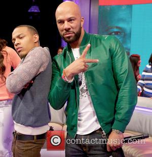 BET's 106 & Park recording at the CBS Broadcast Center on 57th Street in New York New York NY United...
