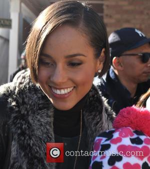 Alicia Keys - Celebrities at the Sundance Film Festival