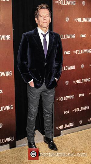 Kevin Bacon - The New York premiere of 'The Following'