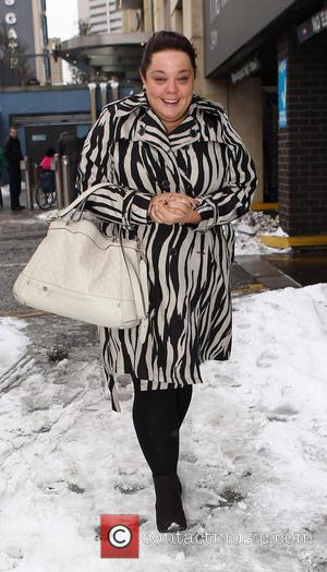 Lisa Riley - The stars of 'Strictly Come Dancing' leaving their hotel United Kingdom Saturday 19th January 2013