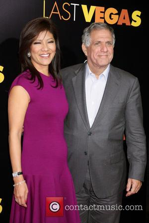 Julie Chen and Les Moonves - Last Vegas Afterparty held at Haze Nighclub inside Aria Hotel and Casino in Las...