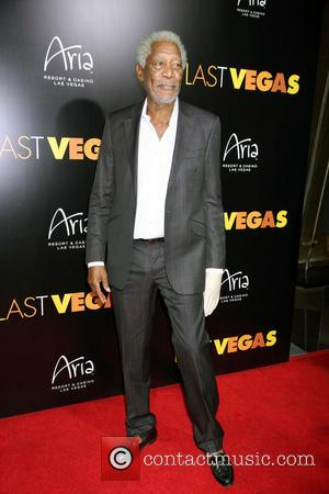 Morgan Freeman - Last Vegas Afterparty held at Haze Nighclub inside Aria Hotel and Casino in Las Vegas, NV on...
