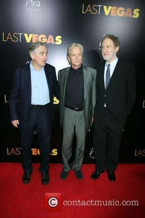 Robert Denifo, Michael Douglas and Kevin Kline