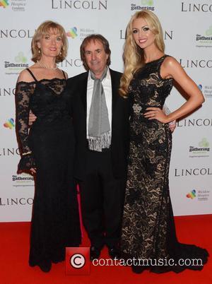 Diane Davison, Chris De Burgh and Rosanna Davison - European Premiere of 'Lincoln' Dublin Ireland Sunday 20th January 2013