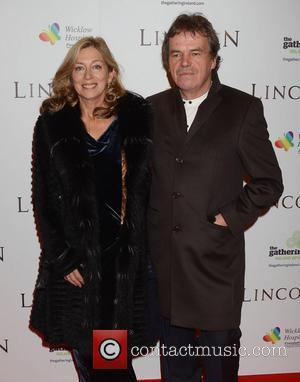 Neil Jordan and Brenda Rawn - European Premiere of 'Lincoln' Dublin Ireland Sunday 20th January 2013