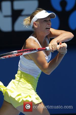 Caroline Wozniacki - Australian Open Tennis 2013 Melbourne Australia Sunday 20th January 2013