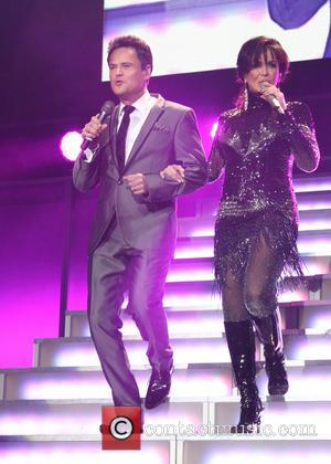 Donny Osmond and Marie Osmond - Osmonds perform at The O2 London England Sunday 20th January 2013