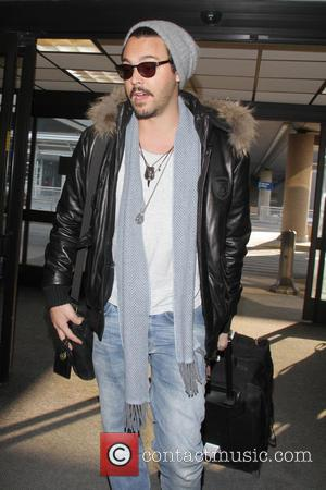 Jack Huston - Celebrities arrive at Salt Lake City International Airport Salt Lake City  Utah United States Monday 21st...