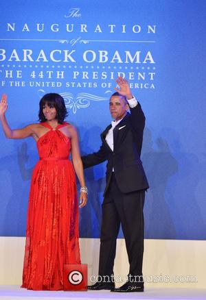 Michelle and Barack Obama, Inaugural Ball