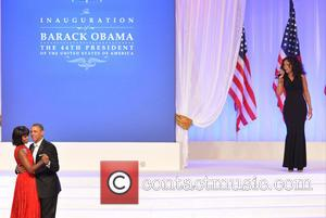 President Barack Obama and First Lady Michelle Obama - President Barack Obama and first lady Michelle Obama at the Presidential...