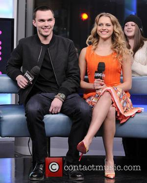 Nicholas Hoult and Teresa Palmer - Cast of 'Warm Bodies' on Much Music Toronto Ontario Canada Monday 21st January 2013