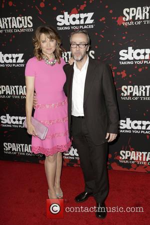 Lucy Lawless and John Hannah - Premiere of 'Spartacus: War of the Damned' Los Angeles California USA Tuesday 22nd January...