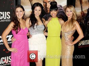 Jenna Lind, Katrina Law, Cynthia Addai-robinson and And Ellen Hollman