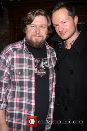 Michael Chernus and Chandler Williams - 'The Jammer' After Party at the Atlantic Theater Company, New York New York NY...