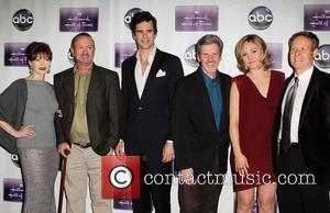 Frances Fisher, C. Jay Cox, David Walton, John Gray and Julia Stiles - The Premiere Of Disney ABC Television &...