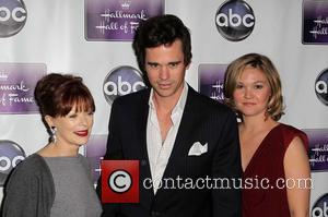 Frances Fisher, David Walton and Julia Stiles - The Premiere Of Disney ABC Television & The Hallmark Hall Of Fame's...