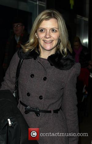 Jane Danson - Celebrities arrive at Euston Station London United Kingdom Wednesday 23rd January 2013