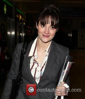 Paula Lane - Celebrities arrive at Euston Station London United Kingdom Wednesday 23rd January 2013