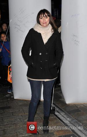 Keeley Hawes - 'IF - Enough food for everyone'  Twitter charity campaign launch event held at Somerset House London...