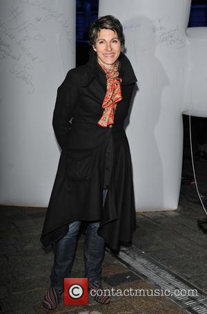 Tamsin Greig - 'IF - Enough food for everyone'  Twitter charity campaign launch event held at Somerset House London...