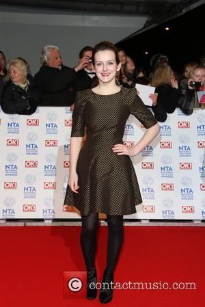 Sophie McShera - National Television Awards - Arrivals London United Kingdom Wednesday 23rd January 2013