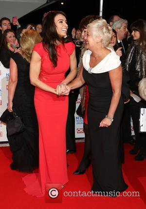 Christine Bleakley and Denise Welch - National Television Awards - Arrivals London United Kingdom Wednesday 23rd January 2013