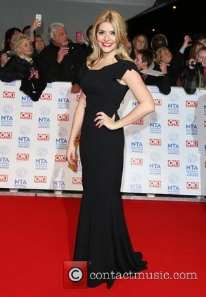 Holly Willoughby - National Television Awards - Arrivals London United Kingdom Wednesday 23rd January 2013